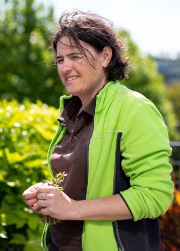 Photo d'une paysagiste d'intérieur